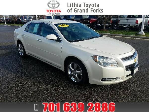 *2012* *Chevrolet Malibu* *LT* WHITE