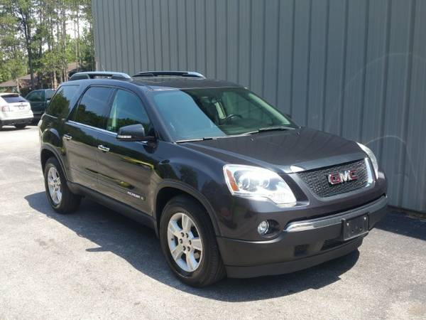2007 GMC ACADIA ! ONE OWNER ! CLEAN CARFAX ! AWD ! NEW TIRES ! LEATHER
