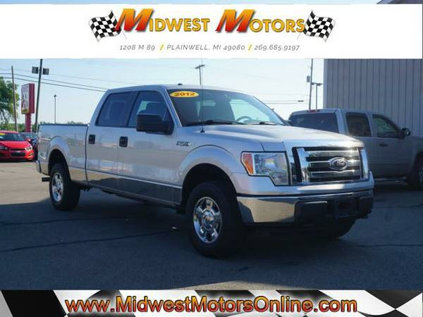 This is the right ONE!! 2012 Ford F150 XLT 4X4 Crew Cab 61k Miles