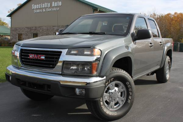 2008 GMC Canyon SLT Crew Cab 4WD! Only 116k Mi! NEW TIRES! WOW