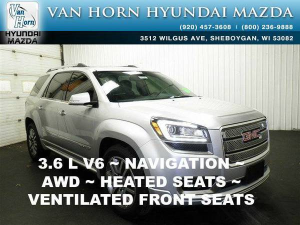 2013 *GMC Acadia* Denali AWD - Quicksilver Metallic BAD CREDIT OK!