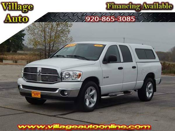 2008 *Dodge RAM 1500* Quad Cab Shortbox *4x2* - Dodge White