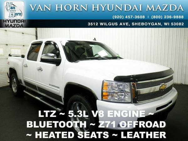 2010 *Chevrolet Silverado 1500* LTZ 4X4 - Summit White BAD CREDIT OK!