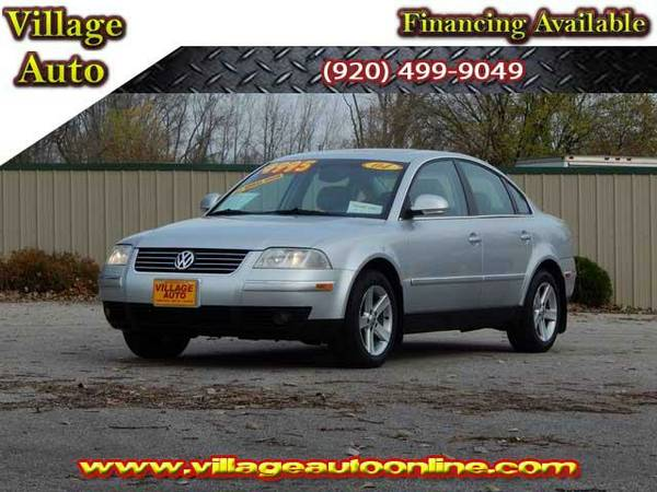 2004 *Volkswagen Passat* GLX 4Motion AWD - Silver-TRADE INS WELCOME!