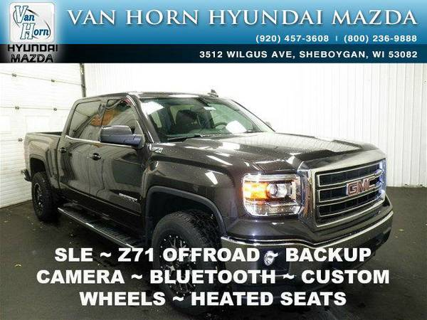 2015 *GMC Sierra 1500* SLE 4X4 - Iridium Metallic BAD CREDIT OK!