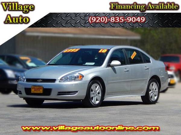 2010 *Chevrolet Impala* LS - Silver-TRADE INS WELCOME!