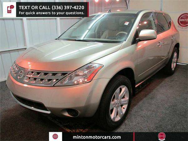 2006 *Nissan* *Murano* SE AWD Easiest 1st time buyer program