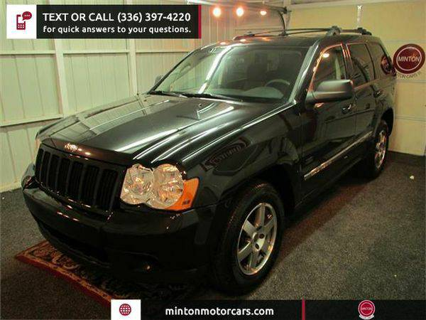 2009 *Jeep* *Grand* *Cherokee* Laredo 4WD Easiest 1st time buyer progr