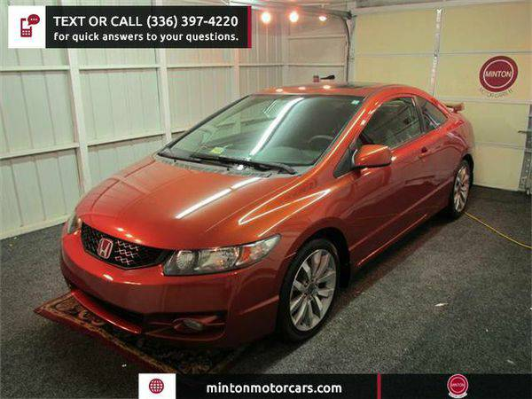 2009 *Honda* *Civic* Si Coupe 6-Speed MT Easiest 1st time buyer progra