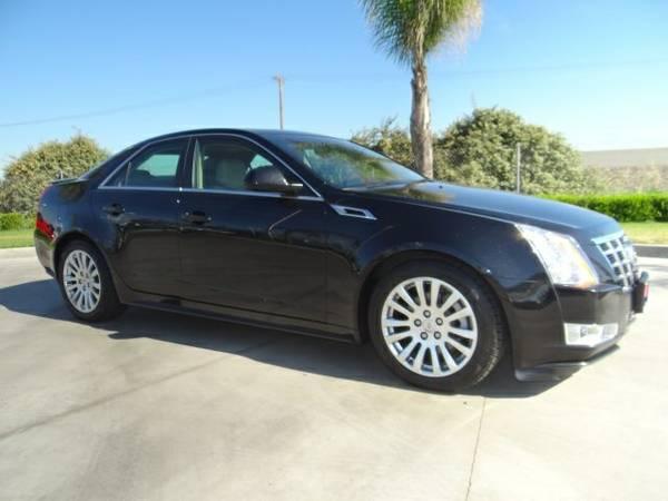 2012 Cadillac CTS 4D Sedan Premium low 38,329 miles