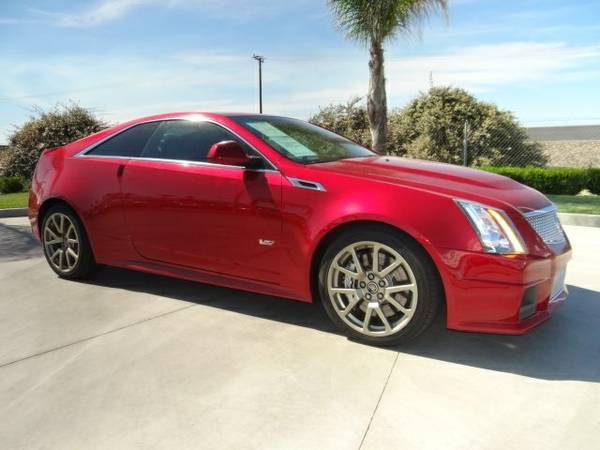 2012 Cadillac CTS-V 2D Coupe Base