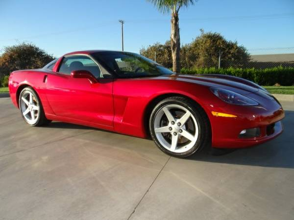 Stock 7278P Chevrolet 2005 Corvette 2D Coupe Base only 18,835 miles