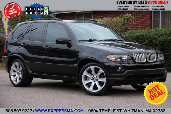 ✔ BE$T DEAL ☛2005 * BMW X5 4.8IS* BLACK ON BLACK *...