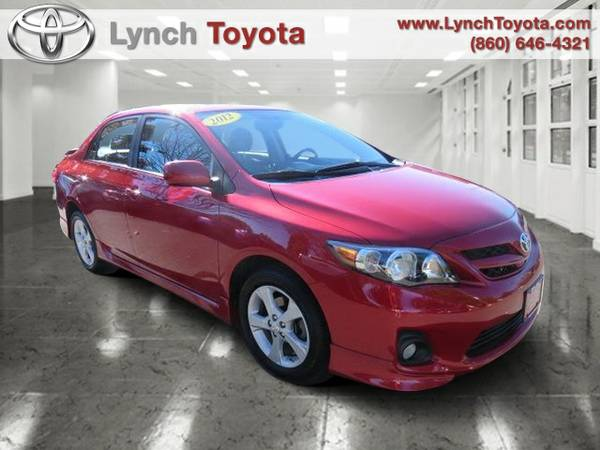Certified: 2012 Toyota Corolla 4 Door Sedan L 23,911 miles low mileage