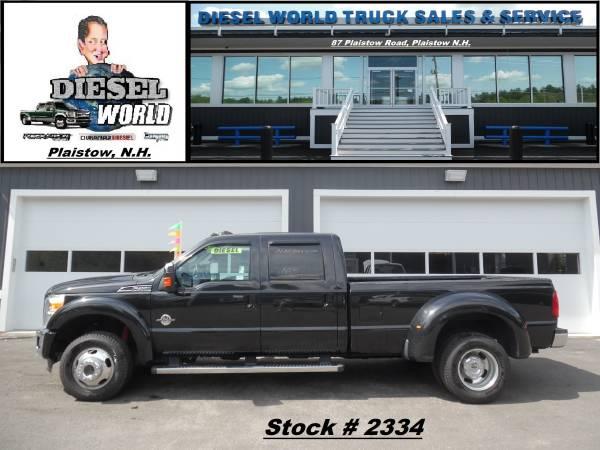 2011 Ford F450 Power Stroke Diesel Crew Dually Pickup (Stk #: 2334)