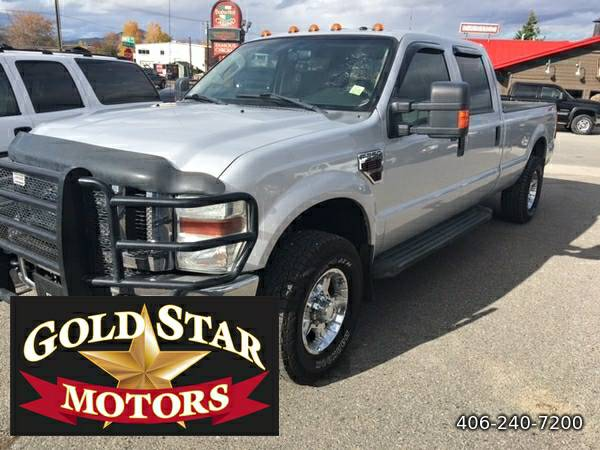 2008 Ford F-250 SD XLT Crew Cab Long Bed 4WD-- GREAT CONDITION--LONG...