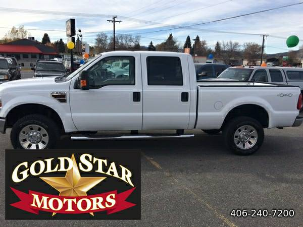 2008 FORD F-350 SD 4X4 XLT CREW DIESEL---MANY UPGRADES... RUNS GREAT!!