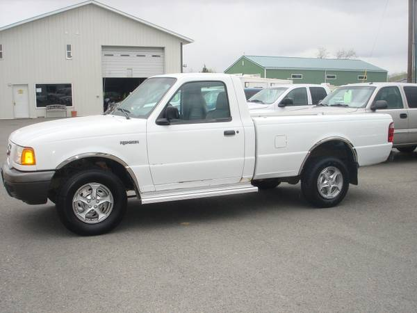 2001 Ford Ranger Standard Cab 4X4 *135k* Mechanic Special!