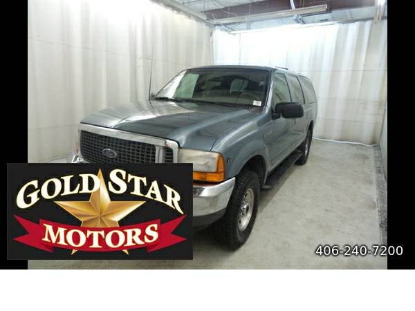 2000 FORD EXCURSION XLT 4WD-- COME SEE THIS SUV!! ON SALE @ 4995.00!!!