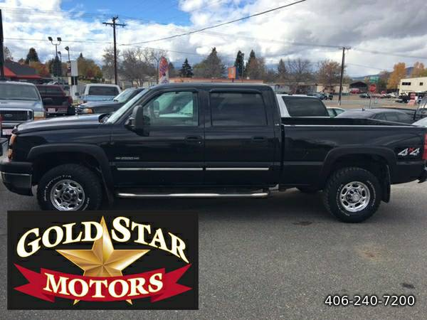 2006 CHEVROLET SILVERADO 2500HD CREW CAB 4X4-- LOW MILES!!! GREAT...