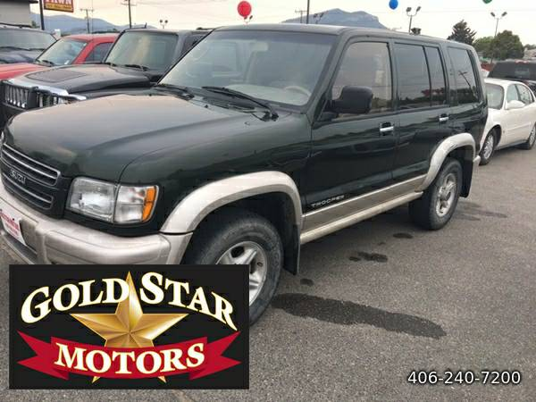 2001 ISUZU TROOPER LS 4x4-- RUNS AND DRIVE EXCELLENT!!