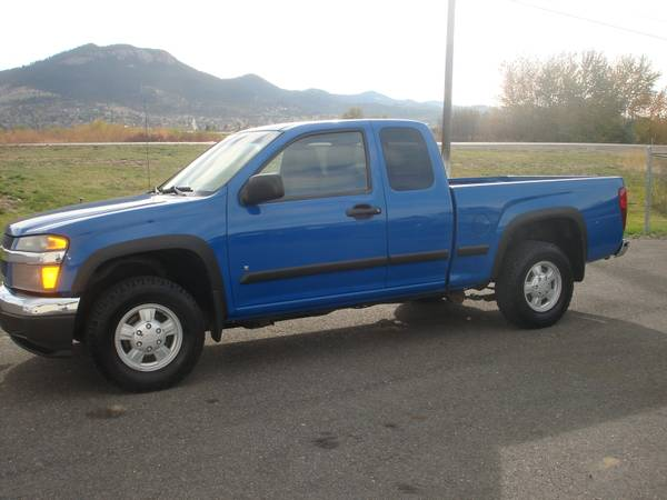 2007 Chevrolet Colorado X/C 4X4 Pickup