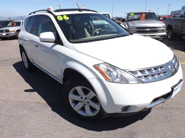 2006 NISSAN MURANO SL ALL WHEEL DRIVE