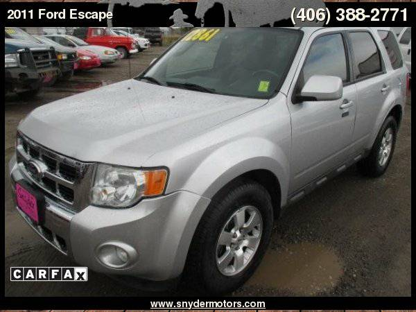 2011 Ford Escape Limited AWD LIMITED! Leather Sunroof Super Clean New