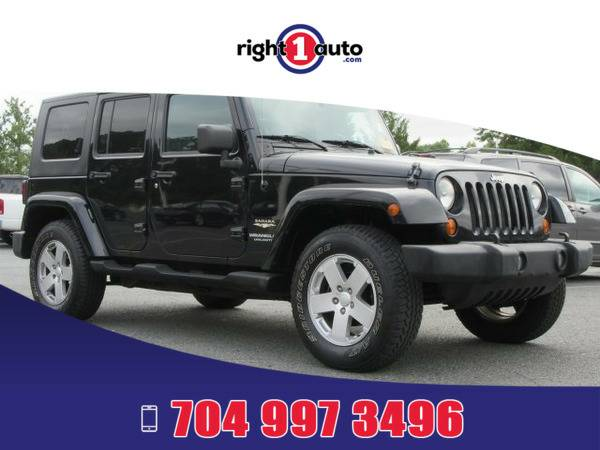 *2007* *Jeep Wrangler* *Black*