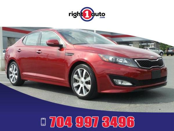 *2013* *Kia Optima* *Red*