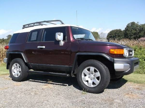 2007 Toyota FJ Cruiser 4WD AT*BAD CREDIT? NO PROBLEM!! APPLY NOW!!!!