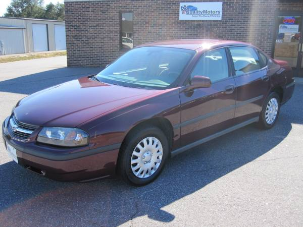 2004 CHEVY IMPALA **CLEAN CAR**WELL MAINTAINED**FINANCING AVAILABLE**