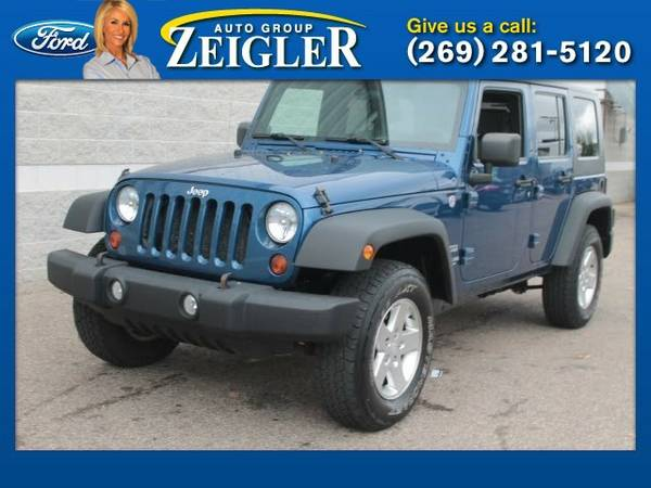 2010 Jeep Wrangler Unlimited Sport SUV Wrangler Unlimited Jeep