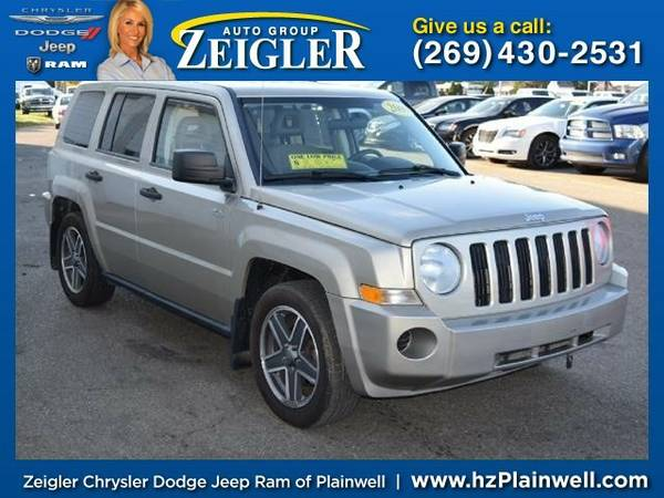 2009 Jeep Patriot Sport SUV Patriot Jeep