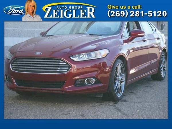 2014 Ford Fusion Titanium Sedan Fusion Ford
