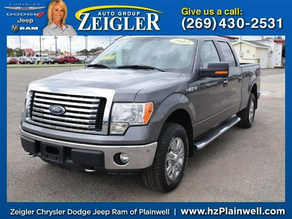 2012 Ford F-150 XLT Truck F-150 Ford