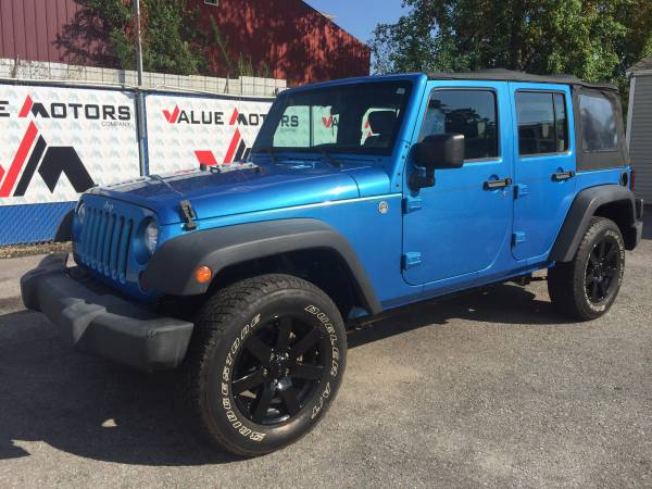★★★JEEP WRANGLER 4X4►$1999 DOWN-99.9%APPROVED