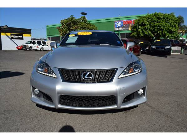 LEXUS IS F ! MILITARY DISCOUNT! FINANCE AVAILABLE !CALL & APPLY NOW