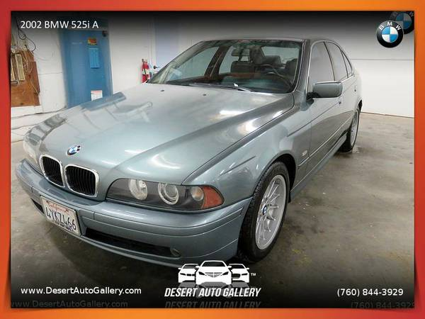2002 BMW 525i A Sedan available for a test drive