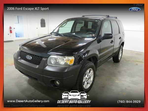 2006 Ford Escape XLT Sport SUV at a HUGE DISCOUNT!