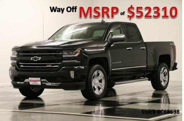 *LEATHER - GPS NAV* 2016 Chevy *SILVERADO 1500 DOUBLE 4X4*