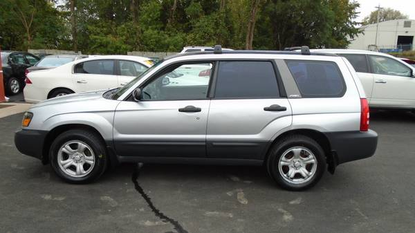 03 subaru forester 2.5 X..new tires ..134000 miles.$4500