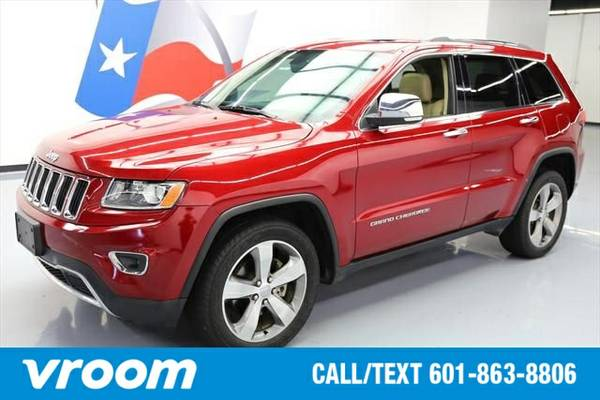 2014 Jeep Grand Cherokee Limited 7 DAY RETURN / 3000 CARS IN STOCK