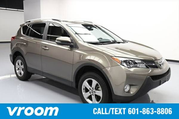 2015 Toyota RAV4 XLE 4dr SUV SUV 7 DAY RETURN / 3000 CARS IN STOCK
