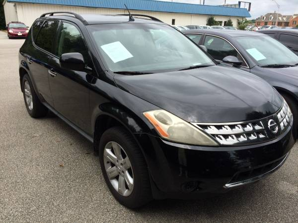 2006 Nissan Murano!!! Down Payment As Low As $500.00