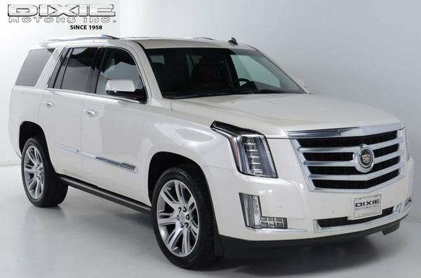 WHITE DIAMOND BEAUTIFUL 2015 CADILLAC ESCALADE AWD PREMIUM