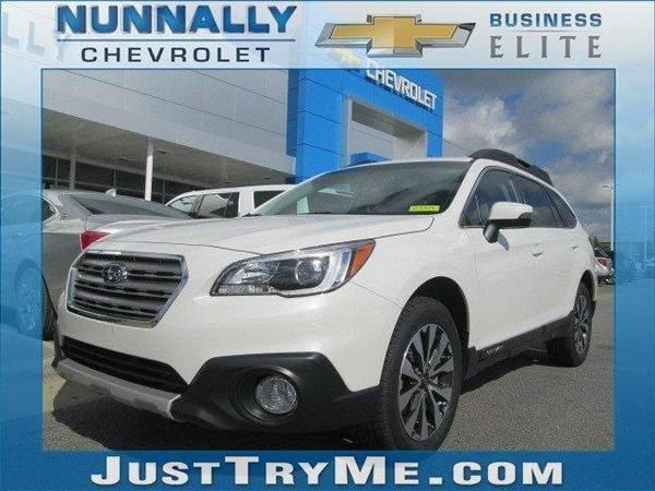 2015 *Subaru Outback* 2.5i Limited (Crystal White Pearl)