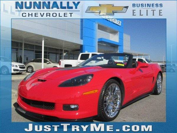 2013 *Chevrolet Corvette* 427 1SA (Red)