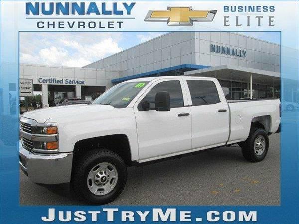 2015 *Chevrolet Silverado 2500HD* Work Truck (Summit White)