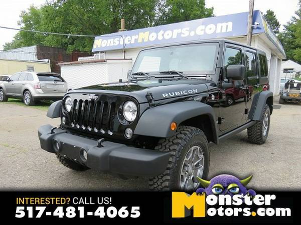 2016 Jeep Wrangler Unlimited 4d Convertible Rubicon